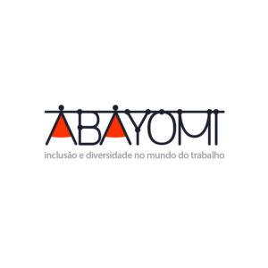 identidade visual logo Abayomi