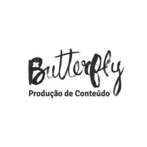 identidade visual logo Butterfly Produção de Conteúdo