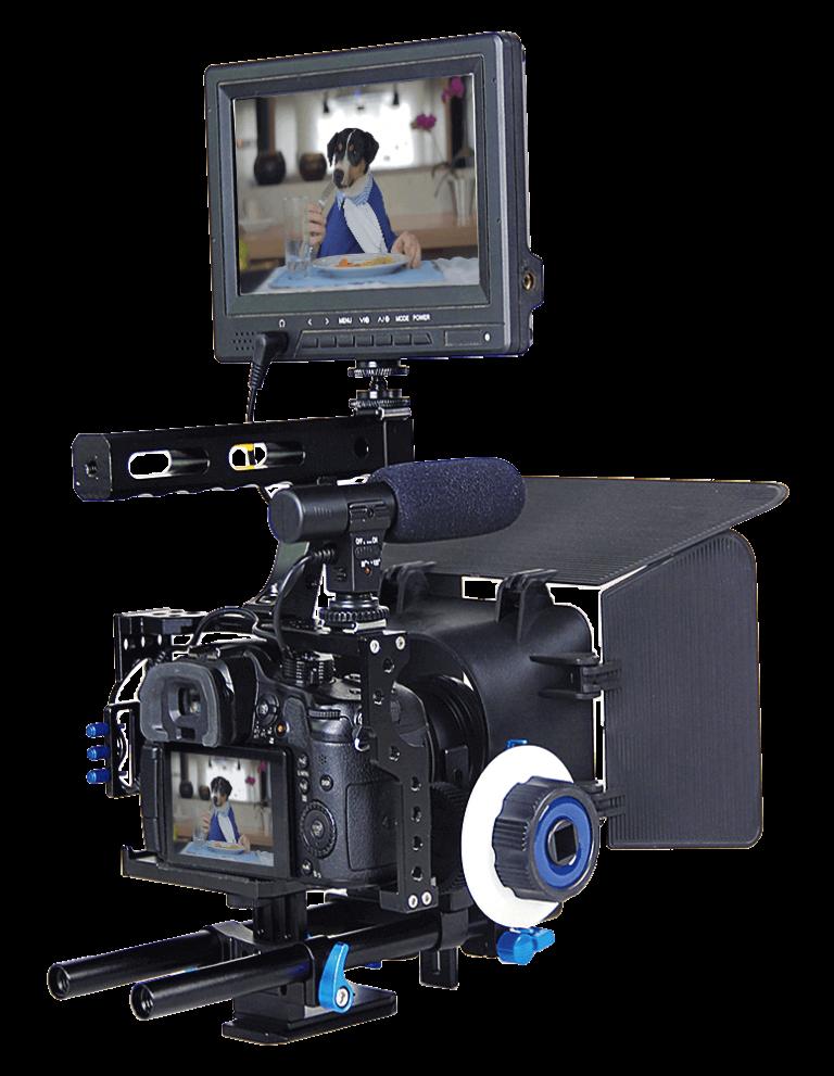 captação de vídeo câmeras profissionais