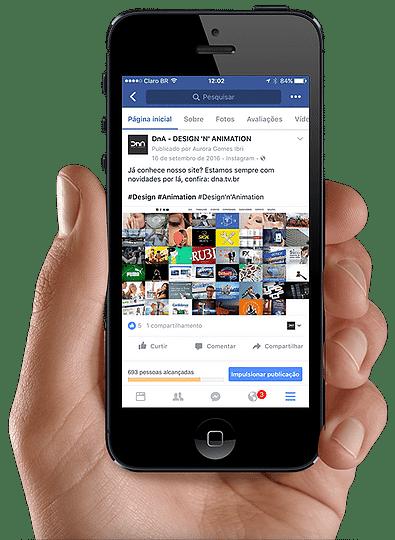 página facebook mobile