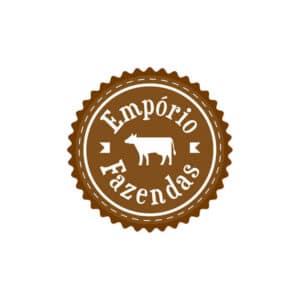 identidade visual logo Empório Fazendas