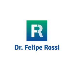 identidade visual logo Dr. Felipe Rossi