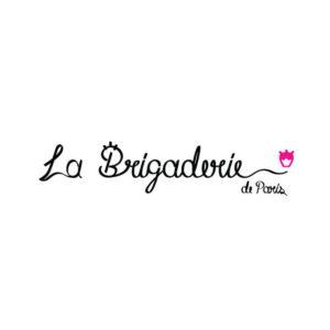 identidade visual logo La Brigaderie de Paris