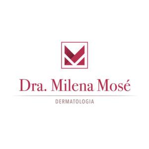 identidade visual logo Dra. Milena Mosé