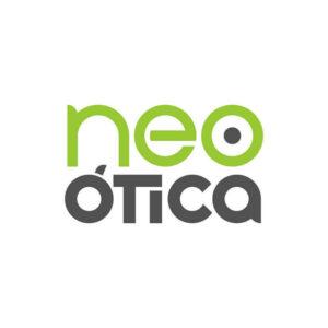 identidade visual logo Neo Ótica