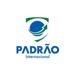 identidade visual logo Padrão Internacional