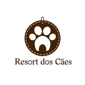 identidade visual logo Resort dos Cães