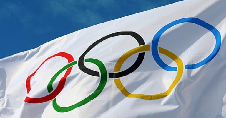 bandeira publicidade nas Olimpíadas